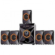 I Kall IK-555 5.1 Bluetooth Home Theater with FM/AUX/USB Support and Remote Control with 1 Year Manufacture Warranty