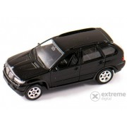 Mașinuță Welly BMW X5 negru, 1:60-64
