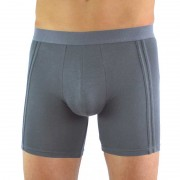 Buddha Boxers Sustainable Comfortable Minimal Boxer Brief Underwear Grey