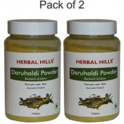 Herbal Hills Natural Daru haridra (Berberis aristata) Powder 100gms - Pack of 2 - Immunity