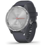 Garmin Vivomove 3 Hybrid Smart Watch (Silver/Granite Blue)