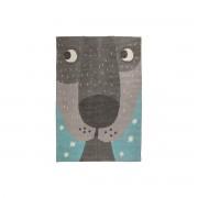 Miliboo Tapis enfant en coton avec imprimé animal 100x140 cm ANNIBAL