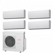 Fujitsu Condizionatore Quadri Split Serie LU 7+7+9+12 Btu ASYG07LUCA +ASYG07LUCA +ASYG09LUCA +ASYG12LUCA AOYG30LAT4 R-410A