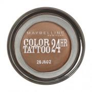 Maybelline Color Tattoo 24H Gel-Cream Eyeshadow 05 Eternal Gold 4G Per Donna (Cosmetic)