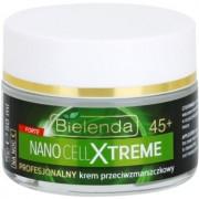 Bielenda Nano Cell Xtreme 45+ creme de noite antirrugas 50 ml