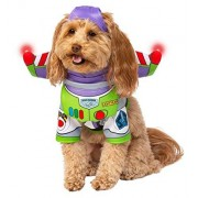 Rubie's Disney: Disfraz de Toy Story para Mascota, Buzz Lightyear, Buzz Lightyear, Large