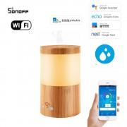 Wifi inteligentný ultrazvukový aróma difuzér s LED podsvietením
