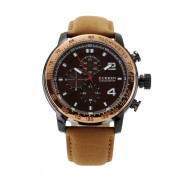 Ceas casual barbatesc Curren Chronometer Tachymeter 8190, maro