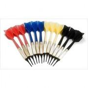 GLD Commercial Soft Tip Bar Darts-Set of 12 with 250 Dart Tips