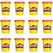 Play-Doh készlet 12 db piros tégely