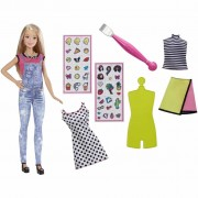 Barbie D.I.Y. Emoji Style Doll DYN93