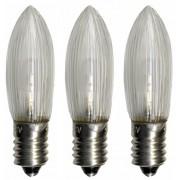 STAR TRADING LED Ersatzleuchtmittel für Baumkerzen - warmweiß, 3 Stück