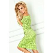 numoco Zelené sportovní šaty s nápisy model 4975293 XL