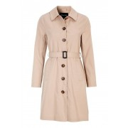Happy Holly Scarlett Trenchcoat Dam Ljus Beige