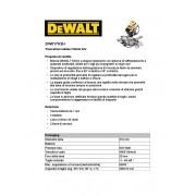 DeWalt TRONCATRICE DW 017K2H