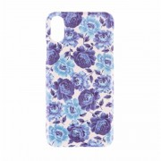 BasicsMobile Baby Blue Roses iPhone X/XS Cover iPhone X/XS Skal
