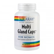 Multi Gland Caps For Women Secom Solaray 90cps
