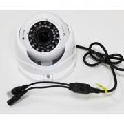 Telecamera Videosorveglianza Dome AHD 36Led 720p Lente varifocale 2.8-12mm