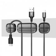 Organizator/Suport cabluri cu banda dublu adeziva Baseus