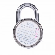 Veilige Ronde Bagage Koffer Security Fiets Rotary Hangslot Cijfercombinatie Code Lock