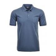RAGMAN Regular Fit Poloshirt Kurzarm azur, Einfarbig