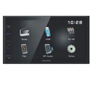 """Kenwood Dmx110bt Autoradio Bluetooth 2 Din Con Schermo 6.8"""" Touch Mp3 Radio Fm Usb Nero - Dmx110bt"""