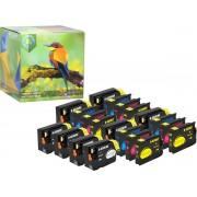 Ink Hero - 20 Pack - Inktcartridge / Alternatief voor de HP Officejet 932 933 CN053AE CN057AE CN054AE CN055AE CN056AE 6100 6600 6700 7110 7510 7610 7612