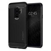 Carcasa Spigen Rugged Armor Samsung Galaxy S9 Plus Matte Black