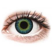 Maxvue Vision Lentes de Contacto Fusion Amarelo Azulado - ColourVUE