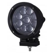 Brutální výkonné pracovní LED světlo 9 x 5W (45W)