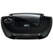 Micro Sistem Philips AZ1837, CD/MP3 Player (Negru)