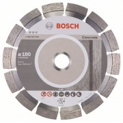 Диск диамантен за рязане Expert for Concrete, 180 x 22,23 x 2,4 x 12 mm, 1 бр./оп., 2608602558, BOSCH