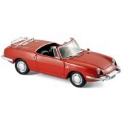 NOREV - FIAT 850 Sport Spider 1968 red