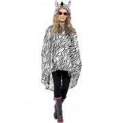 Smiffys Party regenponcho zebra