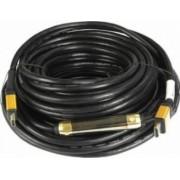 Cablu HDMI 1.4 ART HDMI tata la HDMI tata cu Ethernet Aurit 25m Negru