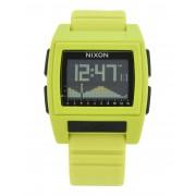 メンズ NIXON Base-Tide-Pro 腕時計 ビタミングリーン