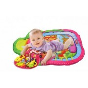 Perna cu saltea activitati bebe roz