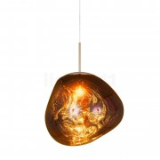 Tom Dixon Melt Suspension, doré, 50 cm