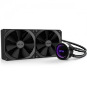 Cooler CPU NZXT KRAKEN X62 280mm, racire cu lichid, AM4 Ready, RGB LED, Infinite Mirror Design, CAM Digital Control, RL-KRX62-02
