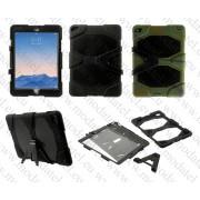 Apple iPad Air 2 (калъф hybrid + стойка) 'Military Style'