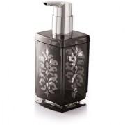 Acrylic Liquid Soap Dispenser Shower Lotion Gel Conditioner Liquid Shampoo Pump (Black color)