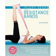 Injury Rehab with Resistance Bands: Complete Anatomy and Rehabilitation Programs for Back, Neck, Shoulders, Elbows, Hips, Knees, Ankles and More, Paperback