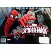 Bloc de desen A4 spiralat Spiderman