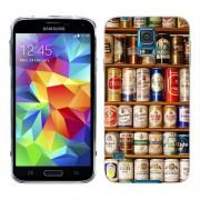 Husa Samsung Galaxy S5 Mini G800F Silicon Gel Tpu Model Beer Cans