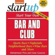 Start Your Own Bar and Club, Paperback