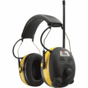 3M Tekk Protection WorkTunes AM/FM Radio/MP3 and Hearing Protector - 24dB, Model 90541-80025V
