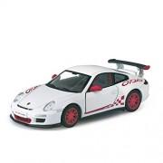 Kinsmart 1:36 Scale 2010 Porsche 911 GT RS Metal Car (White)