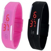 PRUSHTI Multicolour Digital Watch for Kids - Pack of 2