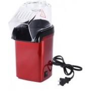 Ever Mall Easy Oil Free Popcorn Maker One Key Operation - Red 500 g Popcorn Maker EM-119 500 g Popcorn Maker(Red)