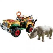 Playmobil Ranger's And Vehicle Rhino